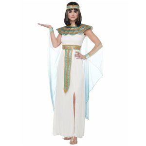 Cleopatra Halloween Costume Cape Dress Women's XL